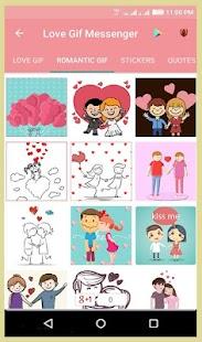 Love Gif for Messenger - náhled