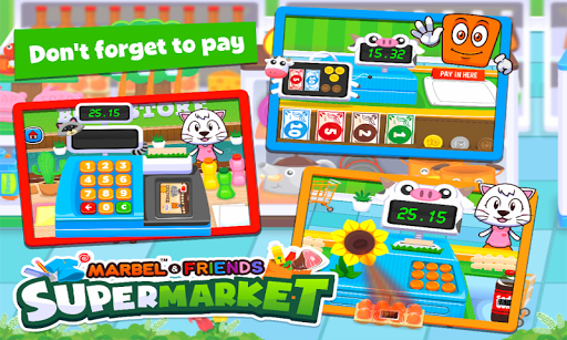 Marbel Supermarket Kids Games apktram screenshots 9