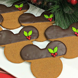 Mickey Mouse Gingerbread Cookies Recipe