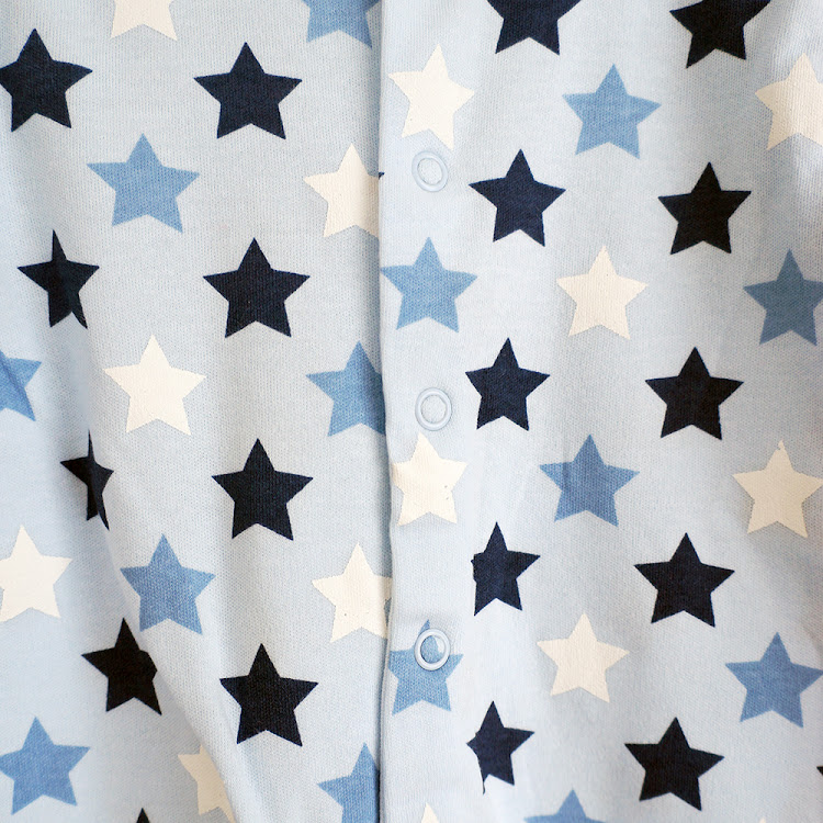 Blue Starry Sleepsuit