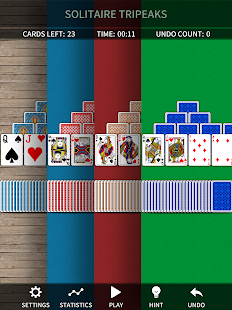 TriPeaks Solitaire Free- screenshot thumbnail