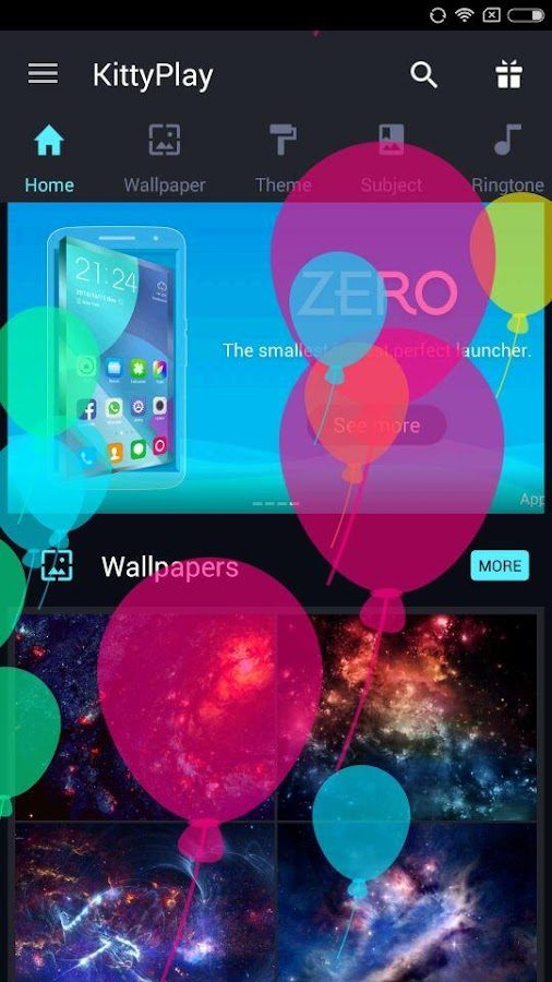 KittyPlay Wallpapers Ringtones- screenshot