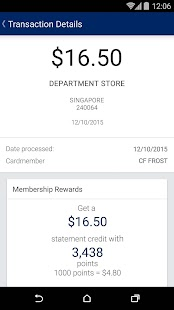 Amex SG- screenshot thumbnail