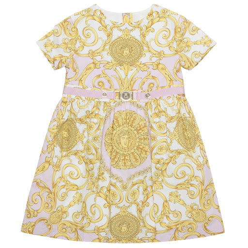 Primary image of Versace Baroque Print Dress