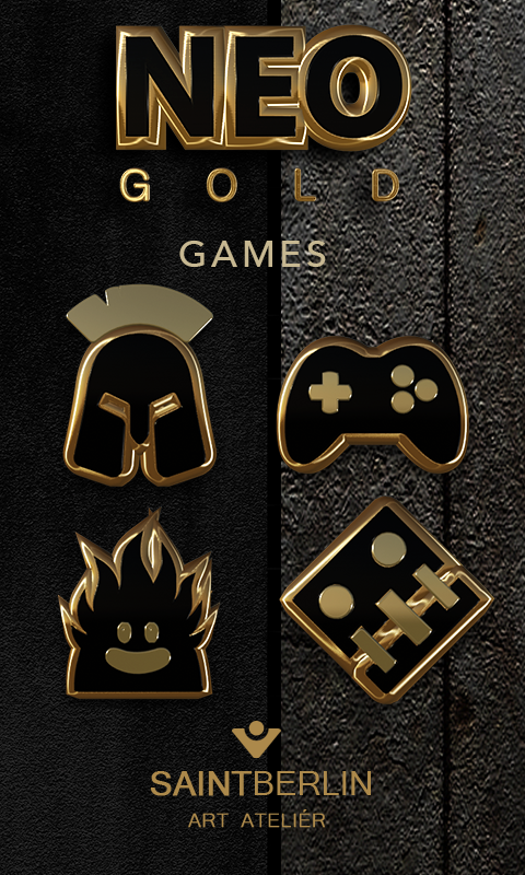 Neo Gold Icon Pack- screenshot