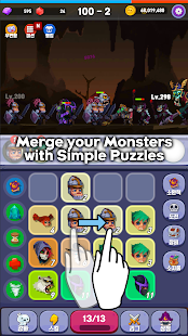 Merge Mon VIP - Idle Puzzle RPG Screenshot