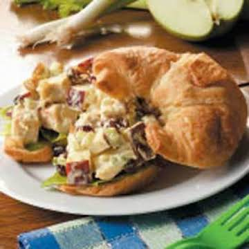 Curried Chicken Salad Sandwiches Recipe