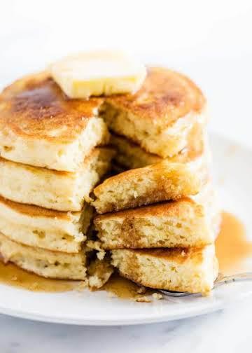 The BEST Buttermilk Pancakes (soft & fluffy!) - I Heart Naptime