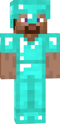 Steve With Diamond Armor | Nova Skin