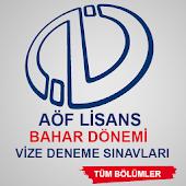 AÖF Lisans Ara Sınav Bahar