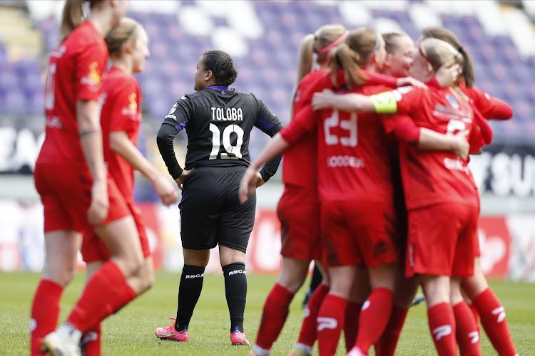 Première défaite de la saison pour Anderlecht Ladies !