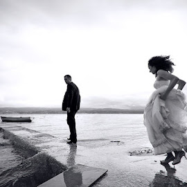 by Ante Gašpar - Wedding Reception ( black and white )
