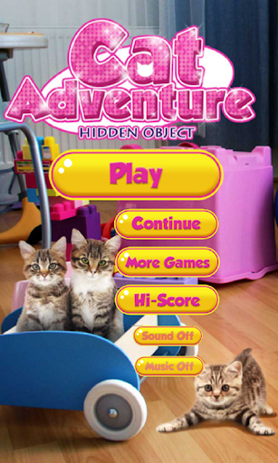 Cat Adventure Hidden Object