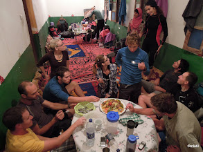 Photo: ubytko a večeře u místních