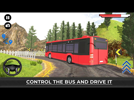 US Offroad Bus Driving Simulator 2018 1.0.1 screenshots 9