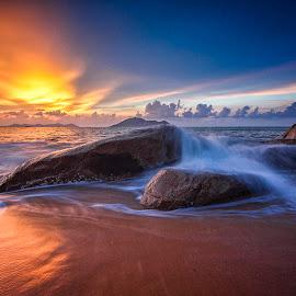So Quiet by Febrianus M.M.  Paskalis - Landscapes Sunsets & Sunrises