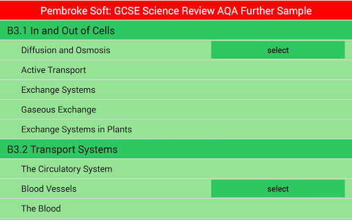 Sample AQA Further Sci Review
