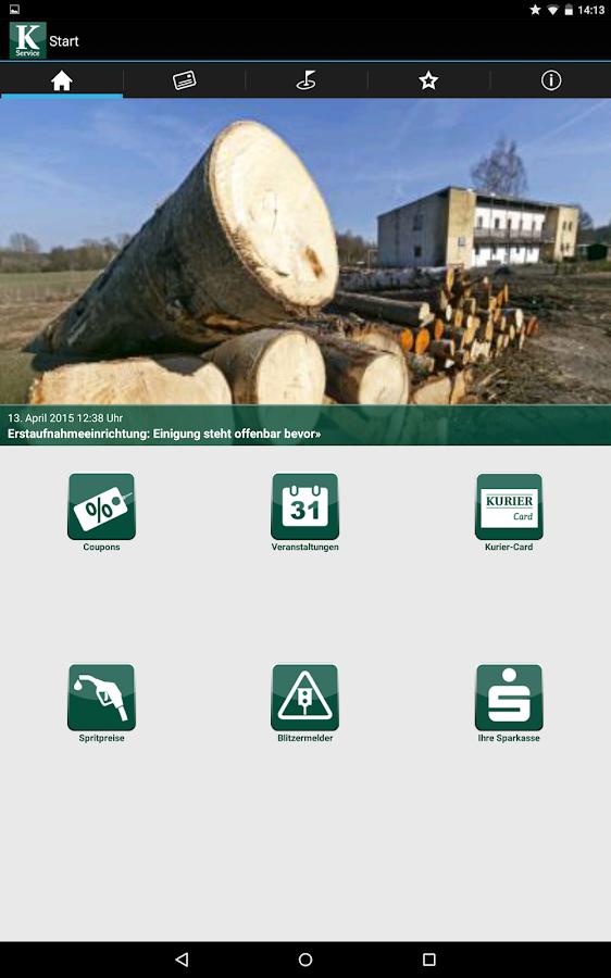 Kurier Service - screenshot
