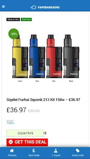 Vape Bargains UK - náhled