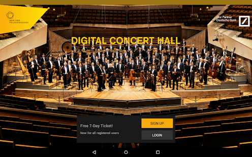 Digital Concert Hall- screenshot thumbnail
