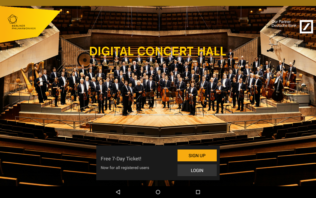 Digital Concert Hall- screenshot