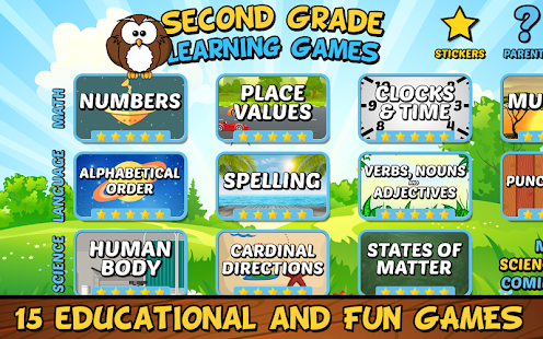Second Grade Learning Games Apps On Google Play