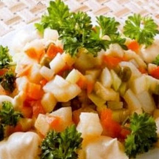 Vegetable Salad With Olive Oil Recipes.