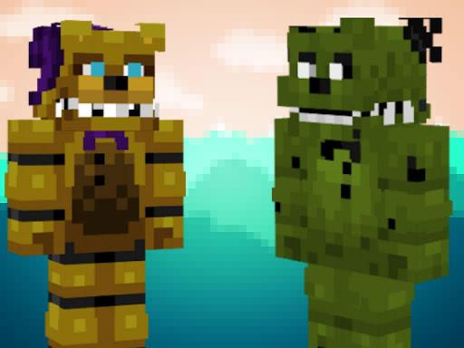 World Skins FNAF For Minecraft