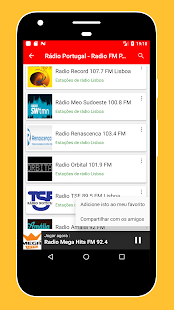 Radios Portugal FM AM - Live Radio Stations Online - náhled