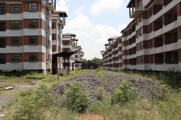 The abandoned Kusile housing project, which has cost Eskom R840m. The department of human settlements says it is currently undertaking a process of evaluation of the property.