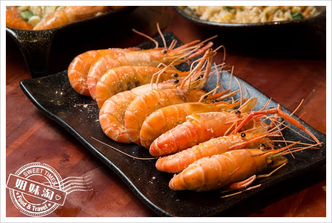 墾丁蝦匠活蝦料理鹽烤蝦