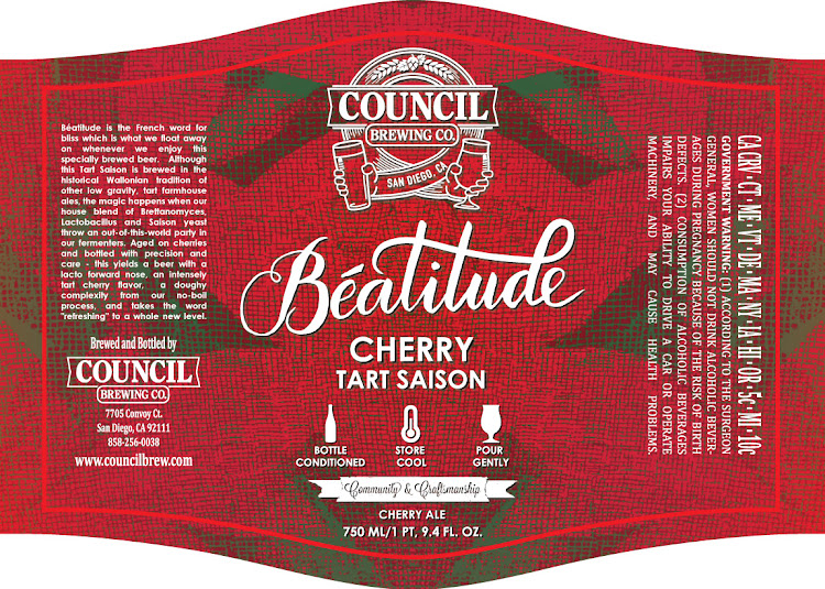 Logo of Council Beatitude Cherry Tart Saison