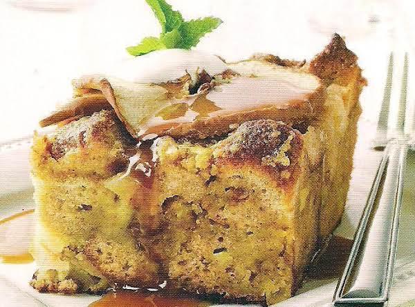Apple Spice Bread Pudding Recipe