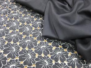 Photo: Ткань: решелье Bottega Veneta ш. 1,40 см. 2000р. Ткань: шерть стрейч Armani double face ш. 1,40 см. 3200р.