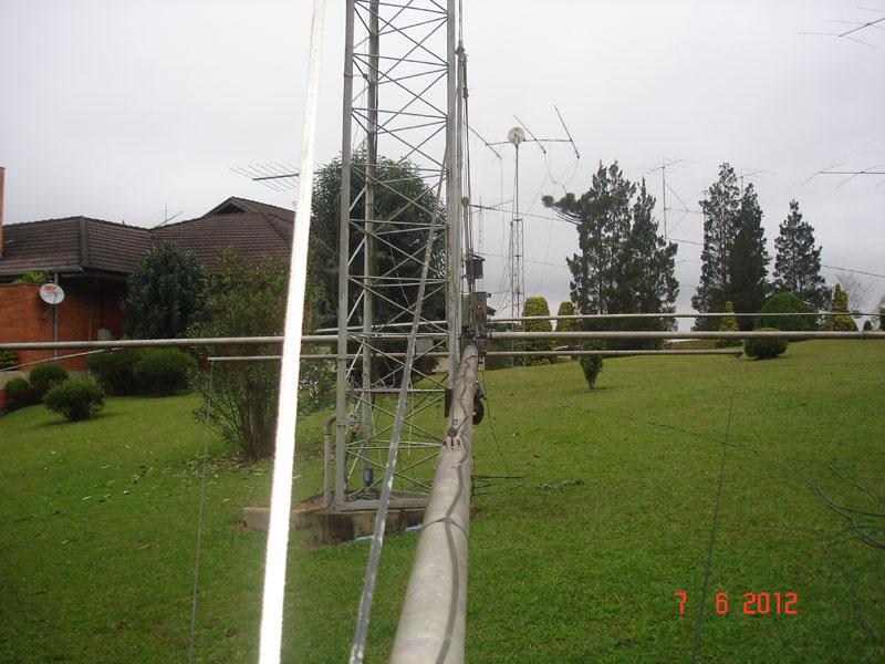 Photo: Antena de 80m