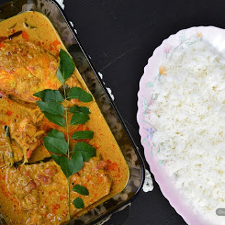 SriLankan Style Fish Curry.