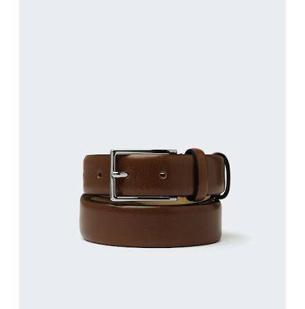 Saddler Palm belt dark brown