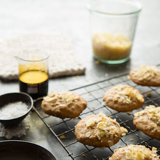 Potato Chip Cookies with Almonds, Ginger and Cinnamon