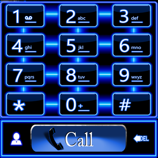 Blue Neon Theme for ExDialer