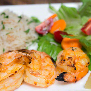 Easy-Peasy Spicy Grilled Shrimp.