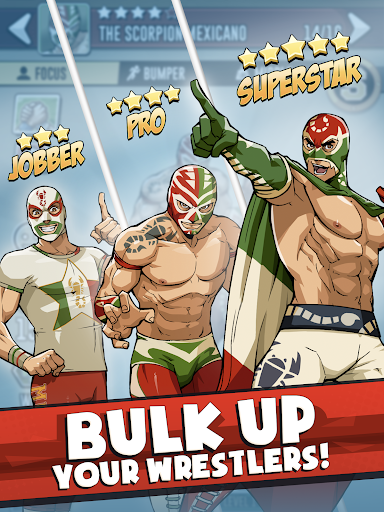 The Muscle Hustle: Slingshot Wrestling Game screenshots 11