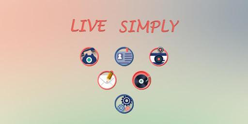 Live a simple Life Theme