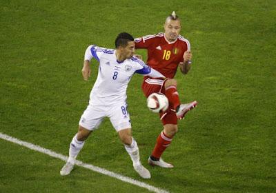 """Radja Nainggolan : """"À l'Euro 2016, il y aura des équipes bien plus solides qu'Israël"""""""