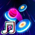 TikTok  Dancing  Tiles Hop Beat icon