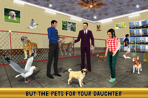 Virtual Billionaire Dad Simulator: Luxury Family apkmr screenshots 12