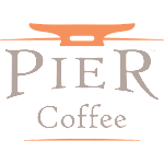 Logo for Pier Coffee Brewery