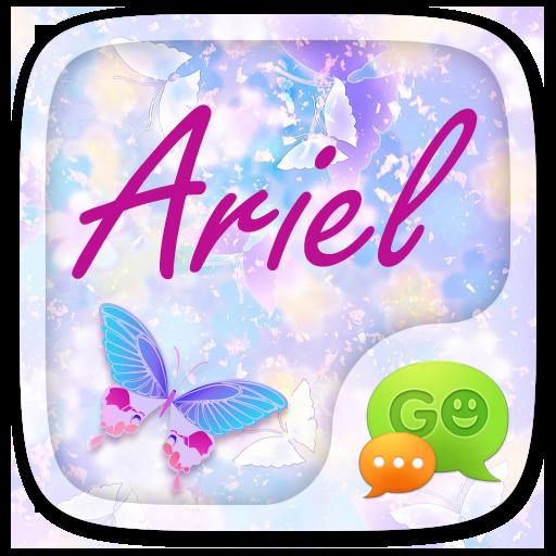 (FREE) GO SMS ARIEL THEME