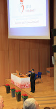 Photo: краковский трубач открывает конференцию.