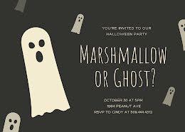 Marshmallow or Ghost? - Halloween item