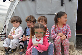 Photo: Children in the camp for Kurdish Internally Displaced People's in Suruç